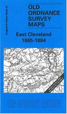 OLD ORDNANCE SURVEY MAP EAST CLEVELAND & LOFTUS 1865 - 1884