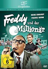 FREDDY UND DER MILLIONÄR 1961 DVD Heinz Erhardt Freddy Quinn NEU & OVP!