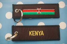 Kenia Kenya Schlüsselanhänger Anhänger Flagge Fahne