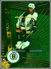 PACIFIC DYNAGON 1997 JASON ALLISON NHL BOSTON BRUINS MINT RARE EMERALD CARD #6