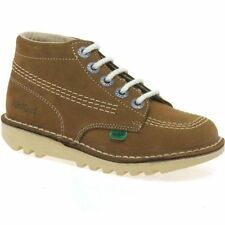 Leather Upper Boots Laces Medium Shoes for Boys