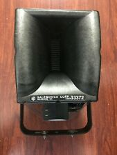 GAI-TRONICS 13372 Wireless Amplified 8 Watt Speaker w UHF Receiver USED
