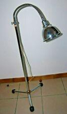 E1 Ancienne lampe d infirmerie - hopital - 1950 1960 Maquet - pied tripode