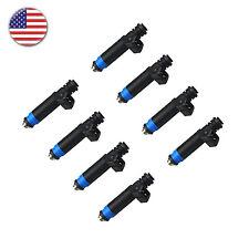 8 X Fuel Injectors Set 80lb/hr(835cc) For Chrysler GM BMW VW Audi  EV1 FI114992