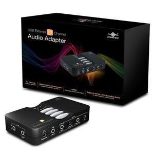 Vantec USB External 7.1 Channel Audio Adapter