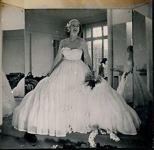 Femme Robe Mode Fashion 1946 Ph. Jean Prével - aa931