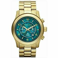 Michael Kors MK8315 Hunger Stop Runway Men's Watch Gold Tone Dial Bracelet Band