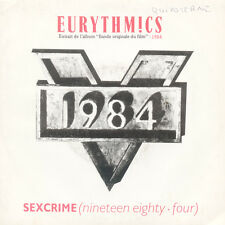 EURYTHMICS Sexcrime I Did It Just The Same FR Press Virgin 90161 1984 SP