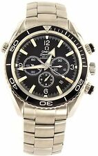 OMEGA SEAMASTER PLANET OCEAN  2210.50 AUTOMATIC CO-AXIAL MOVEMENT CHRONO WATCH