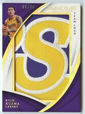 Kyle Kuzma 2017 18 Immaculate Team Logo RC Rookie Team Logo Letter Patch 1/25