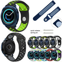 Silicone Sport Watch Strap for Samsung Gear S2 Classic / Sport / S3 Watch Band