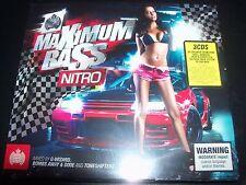 Ministry Of Sound Maximum Bass Nitro 3 CD G-Wizard Toneshifterz Bombs Away & Dix