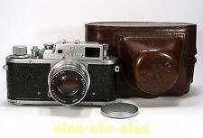 Zorki-3M with Jupiter-8 lens RF film camera M39 mount.Exc,repaired.№5576081