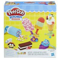 Kitchen Creations Frozen Desserts Play Doh Compound Tools Molds Sprinkle Crank