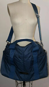 Adidas Stella Mccartney Navy Blue Weekender Bag Unisex Retail $130