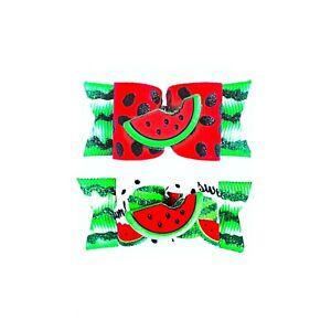 Dog Hair Bows- Watermelon Dog Bow Glitter Fruit Pet Bow Summer Elastics Barrette