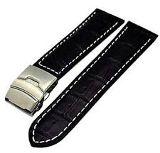 Uhrenarmband Faltschließe Kalbleder Farben Stegbreiten 18mm,20mm,22mm,24mm,26mm