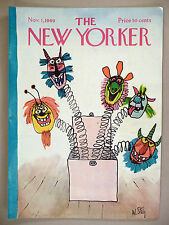 The New Yorker Magazine - November 1, 1969 ~ front cover only ~ William Steig