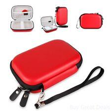 Mobile Printer Case Storage Red for HP Sprocket Portable Photo Printer Polaroid