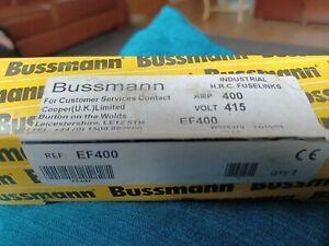 Bussman EF400 Fuse 400A  415V  HRC Fuselink  44648372