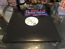 "R. Kelly I Believe I Can Fly NM Vinyl 12"" Promo 1996 Hype Sticker"