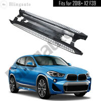Running board fits for 2018-2020 BMW X2 F39 side step nerf bars car pedal 2pcs