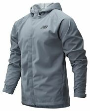 New Balance Men's Sport Rain Jacket Grey