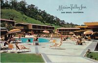 "San Diego CA ""The Mission Valley Inn"" Postcard California *FREE US Shipping*"
