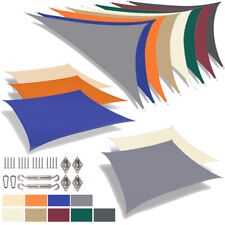 More details for outdoor sun shade sail patio party sunscreen awning canopy cover uv protected uk