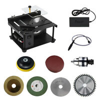 Deluxe Mini Benchtop Band Saw Table Woodworking for DIY Cutting Bone Wood Metal