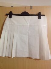Pretty Warehouse Cream Short Skirt Size 8