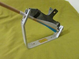 Vintage Archery Arrow Fletching Jig & Clamp, J.G. Gebhart, Arrow Fletching Tool