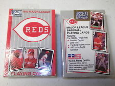 1993 Deck of Cincinnati Reds Bicycle Playing Cards Unopened  New
