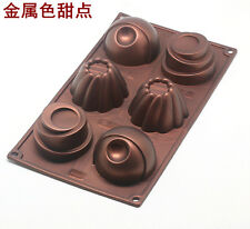 Muffin Cup Cake Mold Soap Mold Silicone Mould For Candy Chocolate Pudding Jelly