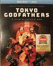 TOKYO GODFATHERS (Blu-ray+DVD, 2020) NEW!! w/Slipcover