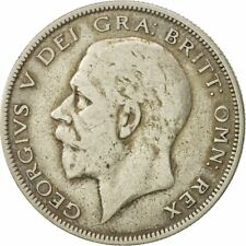 [#544138] Coin, Great Britain, George V, 1/2 Crown, 1928, VF(20-25), Silver