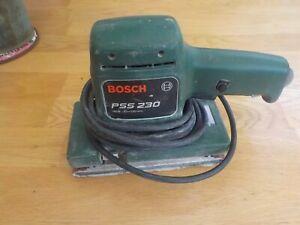 Bosch PSS 230 Electric Sander.