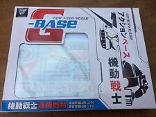 Federal Universa Gundam Action Base Display Stand METAL BUILD style FreeShipping