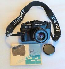 ZENIT 122 35mm SLR FILM CAMERA WITH ZENIT M52x0.75 MC HELIOS-44M-6 58mm 1:2 LENS