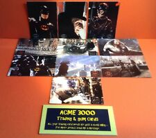 Topps 1992 Batman Returns Complete 10 Stickers Set