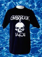 """Original handgedrucktes Elbtempel Hamburg T-Shirt """"Grasbrook 1401"""" Größe S"""