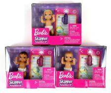 Lot Of 3 Barbie Skipper Babysitter Inc Assorted Babies