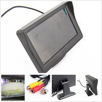 4.3Inch Car Rear View Monitor Night Vision Reverse Camera Backup TFT LCD Display