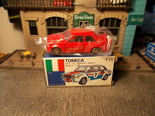 Tomica F11 Fiat 131 Abarth Rally 1/60 Made in Japan