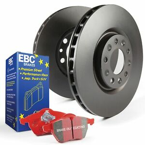 EBC Front OE/OEM Relacement Brake Discs and Redstuff Pads Kit - PD02KF459