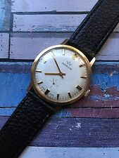 Vintage Marvin Gold Plated Mens Watch