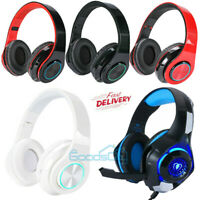MUCH Gaming Headset PS4 Xbox One Headphone PC Earphone 3.5mm Stereo Sound w Mic