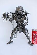 Predator  Scrap Metal Sculpture Art Handmade Gift Scrap Metal Art Cool Gifts