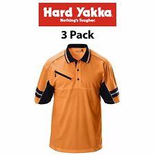 Womens Hard Yakka Y19342 KoolGear Hi-Vis Short Sleeve Vent Polo Cool Size 16