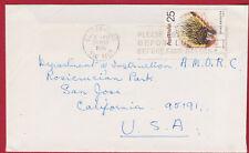 1976  25c Rate  Solo Anteater Australia Cover to USA AMORC ROSICRUCIAN